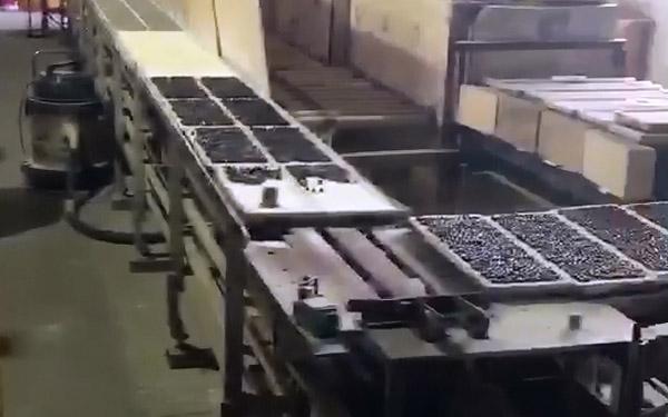 锗石材料生产线